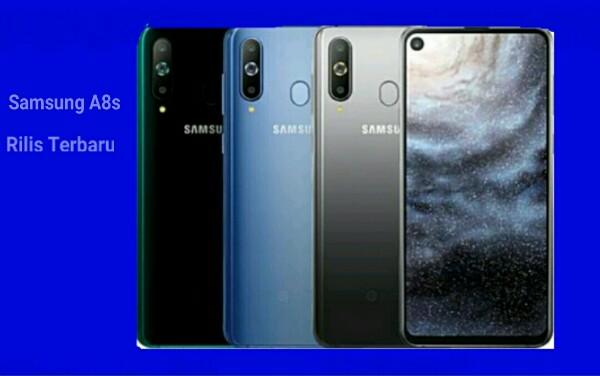 Samsung Galaxy A8s Rilis Pertama Dengan Desain Layar Baru