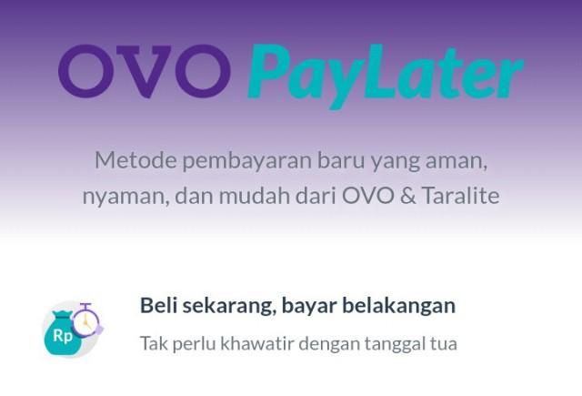 Cara Daftar dan Pakai OVO PayLater