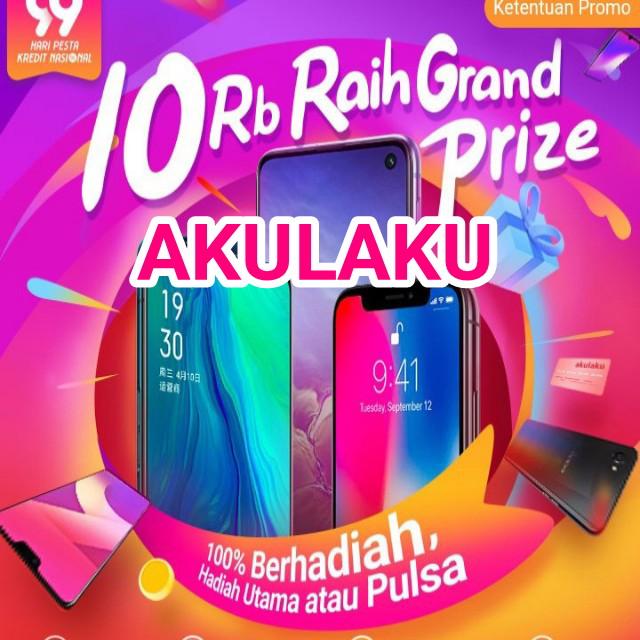 Grand prize Serba 10 rb di Akulaku