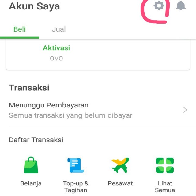 Cara Merubah Email Tokopedia di hp Android