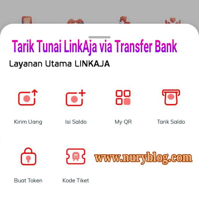 Tarik Saldo LinkAja Ke Rekening Bank