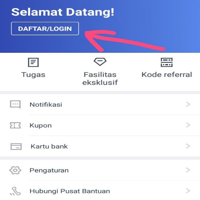 Cara Daftar di Aplikasi Asetku