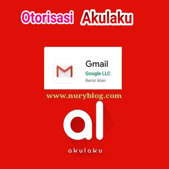 Otorisasi Gmail Akulaku Xiaomi