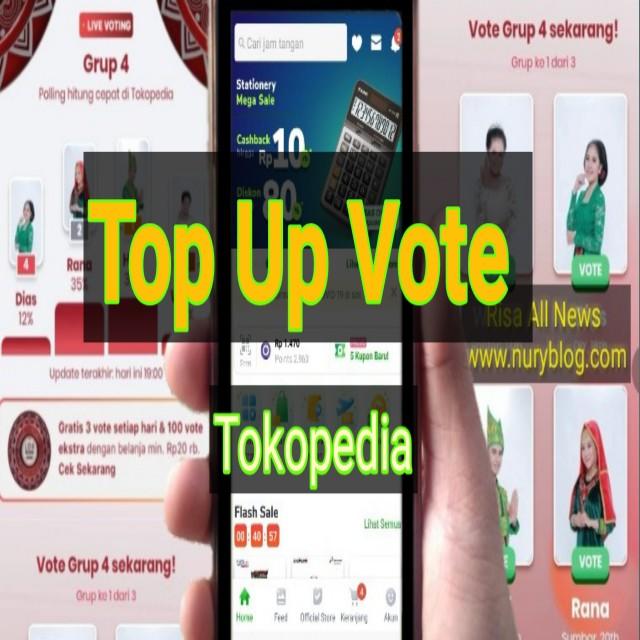 Top Up Vote Tokopedia