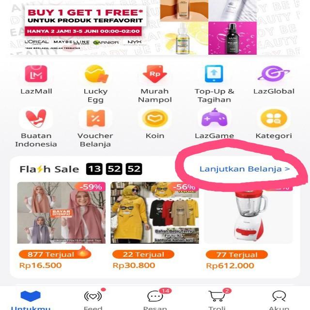 Belanja Flash Sale Lazada