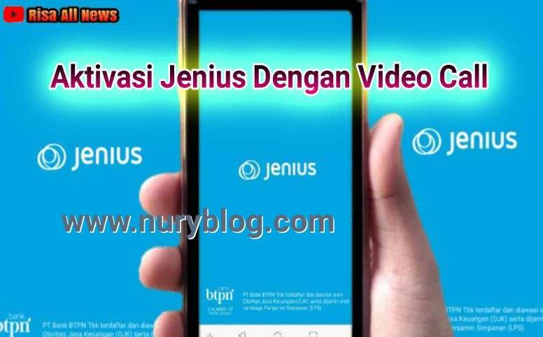 Aktivasi Jenius Dengan Video Call