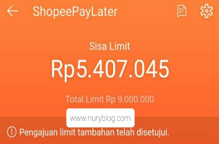 Meningkatkan Limit Shopee Paylater